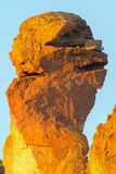 Affe-Gesichts-Säule an Smith Rock Closeup-Zentrale Oregon Stockfotografie