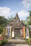 AFFE-HÖHLEN-TEMPEL THAILANDS CHIANG RAI MAE SAI Lizenzfreie Stockfotos