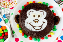 Affe-Kuchen Stockbild