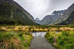 Affe-Nebenfluss, Neuseeland Lizenzfreie Stockfotos