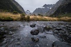 Affe-Nebenfluss, Neuseeland Lizenzfreies Stockbild