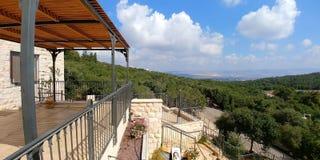 Affe-Park in Yodfat Stockbild