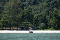 Affe-Strand, Nationalpark Penangs, Malaysia Stockfotos