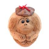 Affe von einer Kokosnuss Lizenzfreies Stockfoto