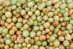 Affeapfel-Fruchthintergrund Lizenzfreie Stockfotos