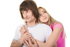 Affection Royalty Free Stock Photography