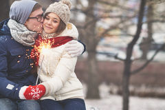 Affection Royalty Free Stock Image