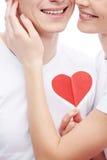 Affection et amour Photographie stock libre de droits
