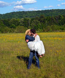 Affection and Landscape Royalty Free Stock Image