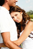 Affectionate couple royalty free stock images