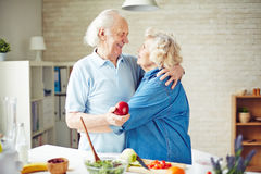 Affectionate couple Royalty Free Stock Photo