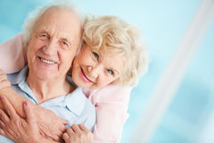 Affectionate couple Royalty Free Stock Image