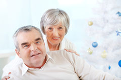 Affectionate couple Stock Photography