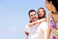 Affectionate couple smiling Royalty Free Stock Images