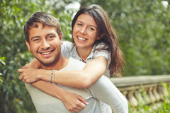 Affectionate dates Royalty Free Stock Images