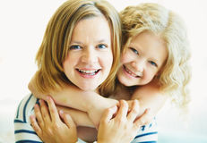 Affectionate females Royalty Free Stock Photos