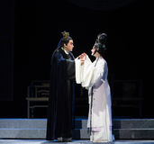"""Affectionate gaze- chilly temple-Jiangxi opera """"Red pearl"""" Stock Image"""