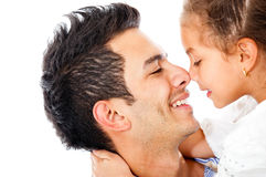 Affectionate girl Royalty Free Stock Photos