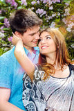 Affectionate look Stock Images