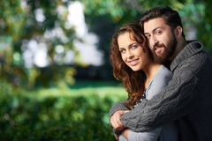 Affectionate lovers Royalty Free Stock Images