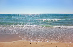 Affectionate Mediterranean Sea Royalty Free Stock Photography