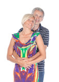 Affectionate middle-aged couple Stock Photography