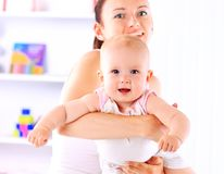 Affectionate Mother And Daughter Stock Photos