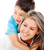 Affectionate mother and son Royalty Free Stock Photo