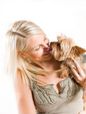 Affectionate pet. Royalty Free Stock Photo