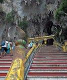 Affefront der Höhle Stockfoto
