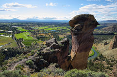 Affegesicht, Smith Rock Park Stockbilder