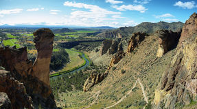 Affegesicht, Smith Rock Park Stockfoto