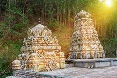 Affegott des hindischen Tempels Lizenzfreies Stockbild