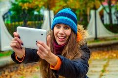 Affektiertheit für Foto selfie Lizenzfreie Stockfotos