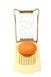 Affettatrice dell'uovo Fotografia Stock Libera da Diritti