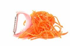 Affettatrice della carota  Fotografie Stock Libere da Diritti