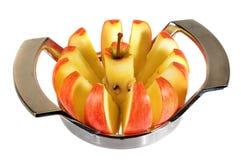 Affettatrice di Apple Immagine Stock