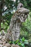 Affewald in Ubud, Bali Lizenzfreie Stockbilder