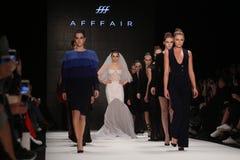 Afffair-Brücke in Mercedes-Benz Fashion Week Istanbul Stockfotos
