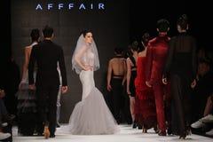Afffair-Brücke in Mercedes-Benz Fashion Week Istanbul Lizenzfreies Stockfoto