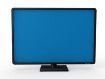 affichage à cristaux liquides de la télévision 3d Image libre de droits