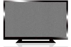 AFFICHAGE À CRISTAUX LIQUIDES TV Image libre de droits