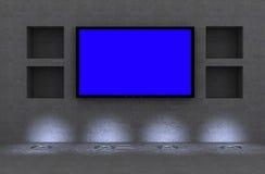 affichage à cristaux liquides TV Photos libres de droits