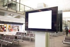 Affichage à cristaux liquides TV avec l'espace vide de copie Photos libres de droits
