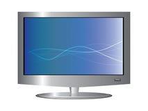 Affichage à cristaux liquides TV de plasma Images stock