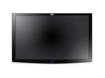 Affichage à cristaux liquides TV de plasma Photo stock