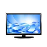 Affichage à cristaux liquides TV de plasma Photos libres de droits