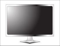Affichage à cristaux liquides TV de plasma Images libres de droits