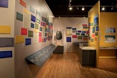 Affichage émotif dans les souvenirs de Viet Nam Vets, musée de l'état de New-York et centre de recherche militaires de vétérans,  Photographie stock libre de droits