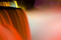 Affichage étonnant de lumière - chutes du Niagara Photos stock